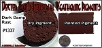 Dark Damp Rust Weathering Pigment-2oz