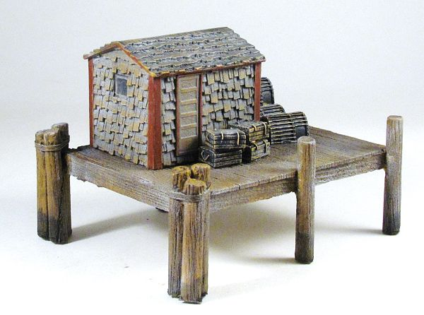 Building the Frenchman River HO 1:87 Scale Lobster Shack Kit