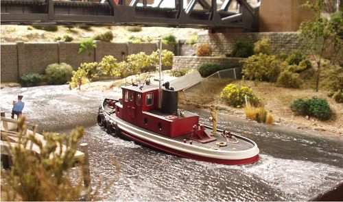 Harbor Tugboat built by Jack Heier