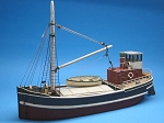 HO 1:87 Scale 68' Steam Freighter Kit, Waterline Hull