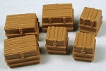 HO 1:87 Scale Trunks