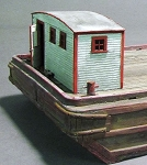 HO 1:87 Scale Large Wooden Captain's Cabin