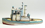 O/On30 1:48 Scale 24' Steam Tugboat Kit
