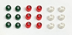 O/On30 1:48 Scale Navigation Marker Light Set (set of 18)