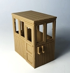 Wooden Wheelhouse