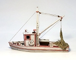 O/On30 1:48 Scale Wooden Fishing Boat