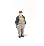 O Scale Standing Fat Man