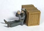 O Scale Hobo with Harmonica