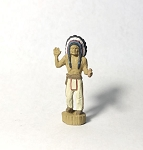 O Scale Cigar Store Indian
