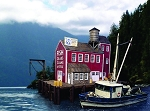 HO 1:87 Scale Poseidon Canning Company Complex, Set of 6 kits