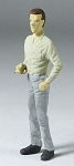O Scale Standing man with cigarette