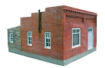 HO 1:87 Scale Brick Single Story Building