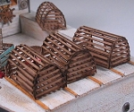 Lobster Traps -Laser Cut