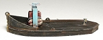 HO 1:87 Scale 16' Log Bronc Kit, Waterline Hull (set of 2)