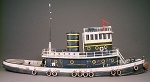 HO 1:87 Scale 92' Diesel Railroad Tug Boat Kit