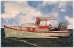 HO 1:87 Scale 34' Lobster Boat Kit, Waterline Hull