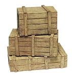 Wooden Crates (Cast Resin)