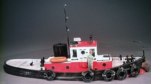 O 1:48 Scale 45' Diesel Harbor Tugboat Kit