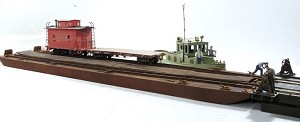 On30 1:48 Scale 2 Track Carfloat