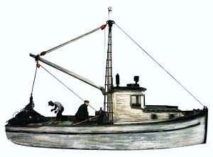 O/On30 1:48 Scale Combination Fishing Boat