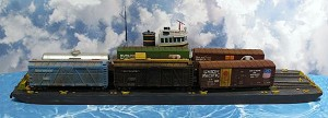 HO 1:87 Scale 169' 3 Track Carfloat