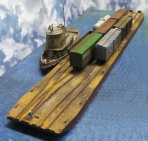 HO 1:87 Scale 64' 3 Track Carfloat Extension