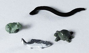 O Scale Pond Creatures