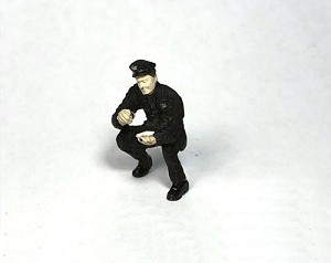 O Scale Stooping Policeman