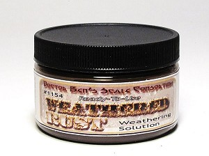 Weathered Rust Weathering Solution