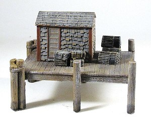 HO 1:87 Scale Lobster Shack