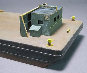 HO 1:87 Scale GMA Barge Captain's Cabin