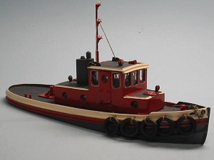 HO 1:87 Scale 45' Harbor Tug Boat