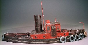 O/On30 1:48 Scale 45' Steam Harbor Tugboat Kit